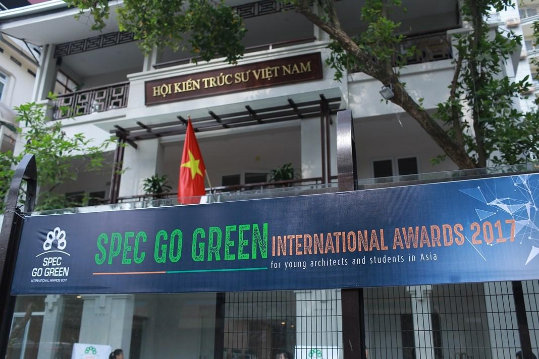 GIẢI THƯỞNG SPEC GO GREEN INTERNATIONAL AWARDS 2017