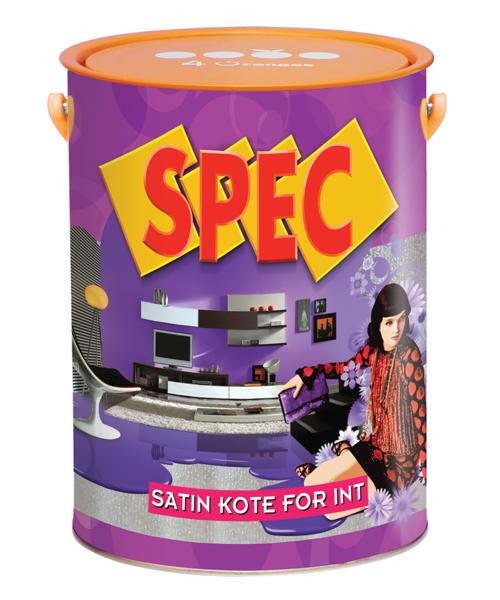 Sơn nội thất Spec Satin Kote For Interior