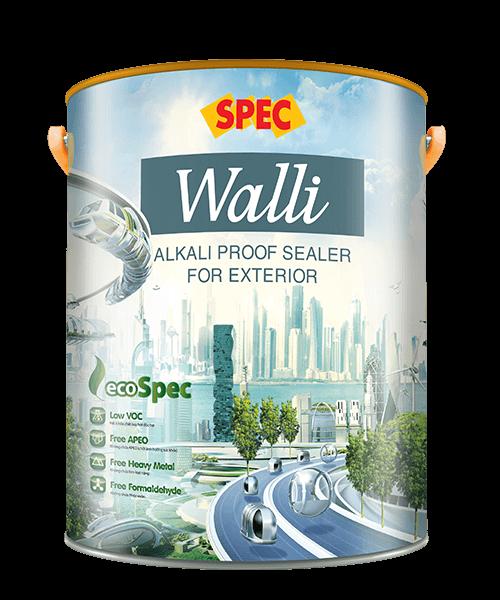 SPEC WALLI ALKALI PROOF SEALER FOR EXTERIOR - SƠN LÓT CHỐNG THẤM, CHỐNG KIỀM CHUYÊN DỤNG