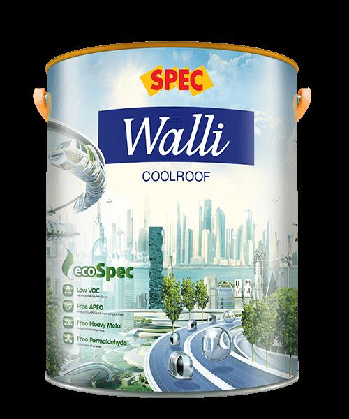 SPEC WALLI COOLROOF - SƠN CHỐNG NÓNG, BẢO VỆ TỐI ĐA