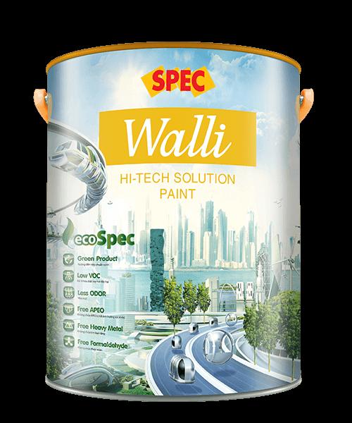 SPEC WALLI HI-TECH SOLUTION PAINT - SƠN NGOẠI THẤT CÔNG NGHỆ MỚI-THÁCH THỨC THỜI TIẾT