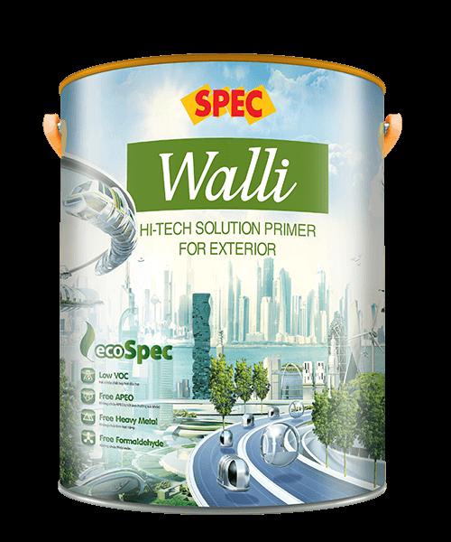 SPEC WALLI HI-TECH SOLUTION PRIMER FOR EXTERIOR - SƠN LÓT NANO CHUYÊN DỤNG
