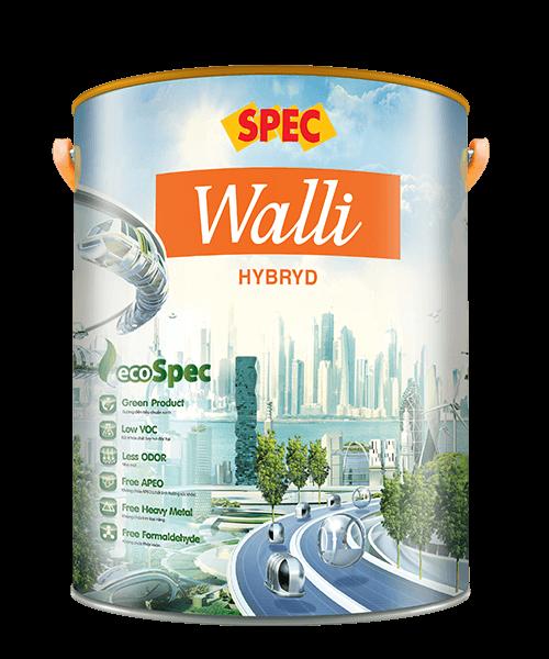 SPEC WALLI HYBRID - SƠN NGOẠI THẤT CAO CẤP CHỐNG THẤM & CHỐNG RẠN NỨT