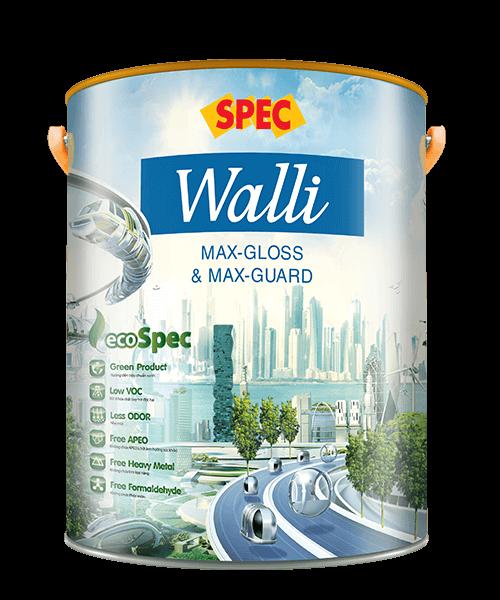 SPEC WALLI MAX-GLOSS & MAX-GUARD - SƠN NỘI THẤT SIÊU BÓNG & KHÁNG KHUẨN