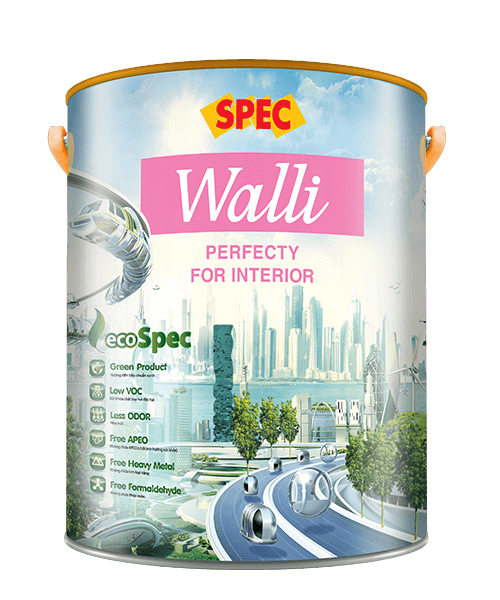 SPEC WALLI PERFECTY FOR INTERIOR - SƠN NỘI THẤT HOÀN HẢO