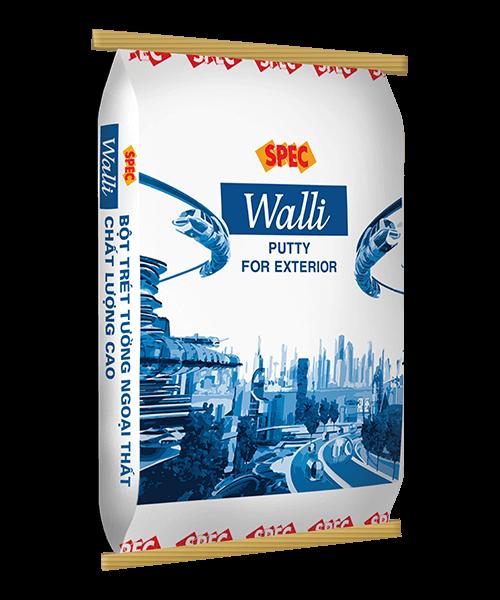 SPEC WALLI PUTTY FOR EXTERIOR - BỘT TRÉT TƯỜNG NGOẠI THẤT CHẤT LƯỢNG CAO