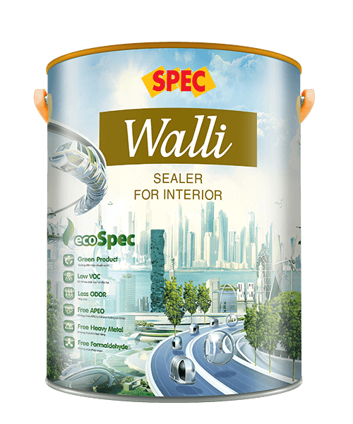 SPEC WALLI SEALER FOR INTERIOR - SƠN LÓT CHỐNG KIỀM NỘI THẤT CAO CẤP