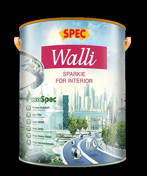 SPEC WALLI SPARKIE FOR INTERIOR - SƠN NỘI THẤT BÓNG CAO CẤP