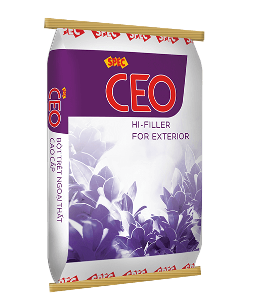 SPEC CEO HI-FILLER FOR EXTERIOR - BỘT TRÉT NGOẠI THẤT CAO CẤP