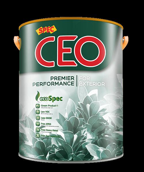 SPEC CEO PREMIER PERFORMANCE FOR EXTERIOR - SƠN NGOẠI THẤT CHỐNG THẤM, CHỐNG BÁM BẤN
