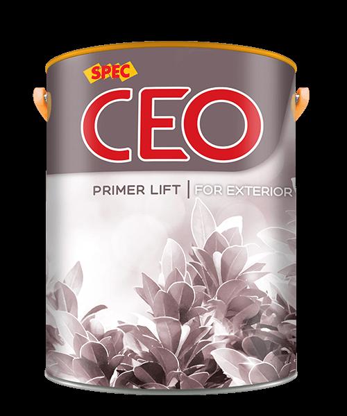 SPEC CEO PRIMER LIFT FOR EXTERIOR - SƠN LÓT NGOẠI THẤT SIÊU KHÁNG KIỀM VÀ KHÁNG MUỐI