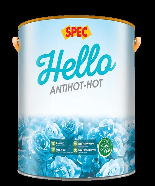 SPEC HELLO ANTIHOT-HOT - SƠN NƯỚC CHỐNG NẮNG NGOẠI THẤT