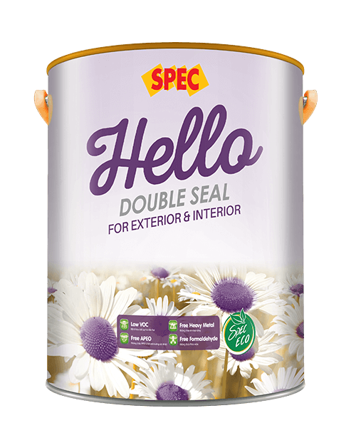 SPEC HELLO DOUBLE SEAL FOR EXTERIOR & INTERIOR