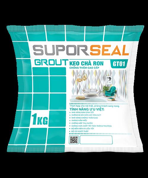 SUPORSEAL GROUT GT01 - KEO CHÀ RON CHÔNG THẤM CAO CẤP