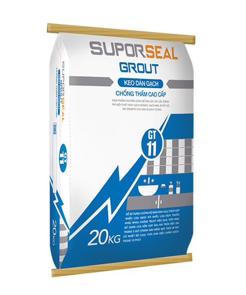 SUPORSEAL GROUT GT11 - KEO DÁN GẠCH CHỐNG THẤM CAO CẤP