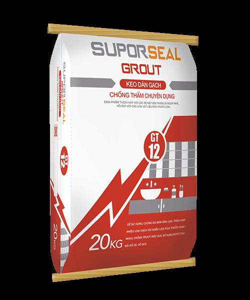 SUPORSEAL GROUT GT12 - KEO DÁN GẠCH CHỐNG THẤM CHUYÊN DỤNG