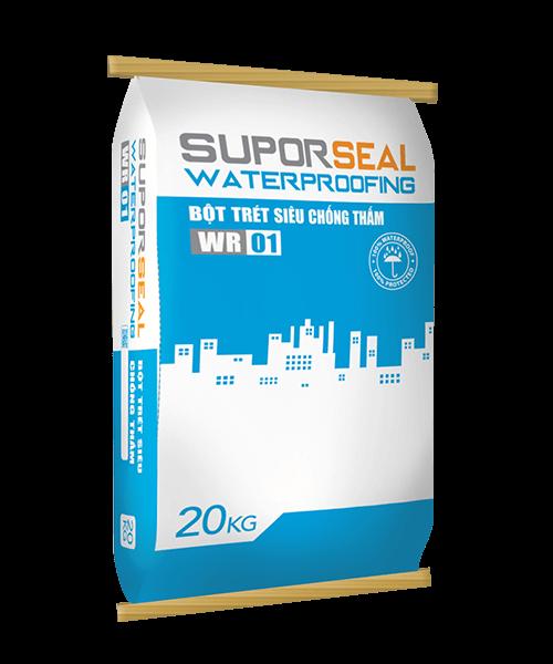 SUPORSEAL WATERPROOFING WR01 - BỘT TRÉT SIÊU CHỐNG THẤM