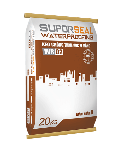 SUPORSEAL WATERPROOFING WR02 - KEO CHỐNG THẤM GỐC XI MĂNG